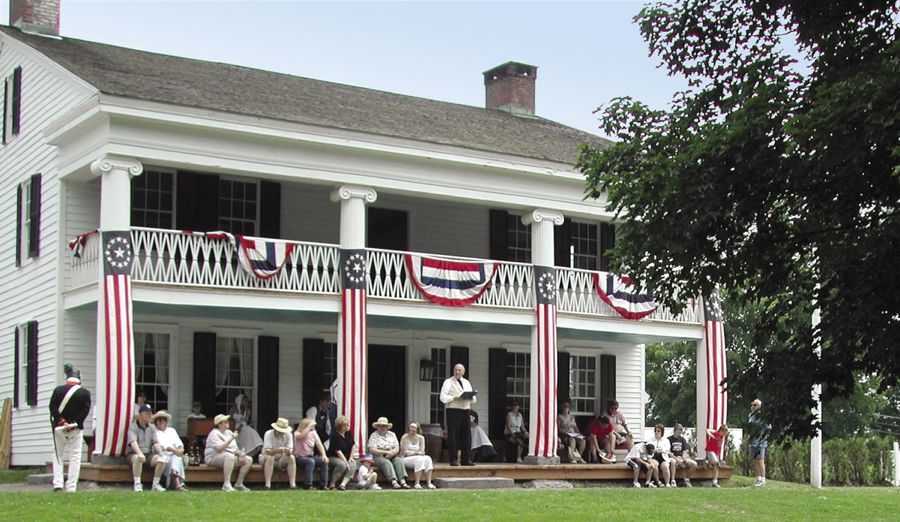 The Farmers' Museum 4th of July celebration