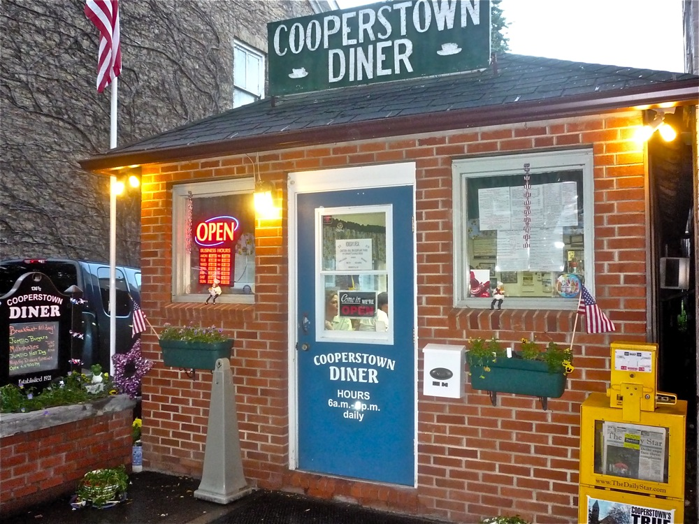 Cooperstown Diner, Cooperstown NY