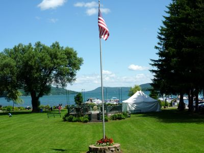 Lakefront Park, Cooperstown NY